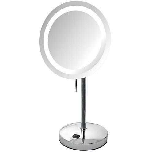 Sharper Image® 8X LED Tabletop Makeup Mirror