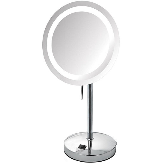 Sharper Image® 8X LED Tabletop Makeup Mirror