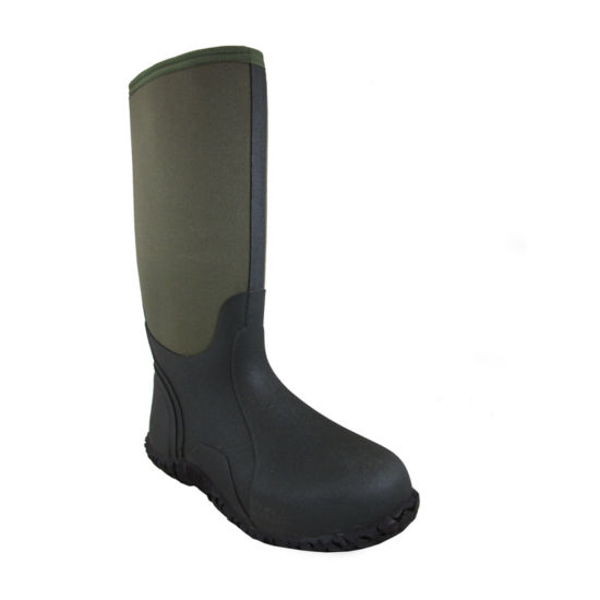 Smoky Mountain Mens Waterproof Slip Resistant Rain Boots