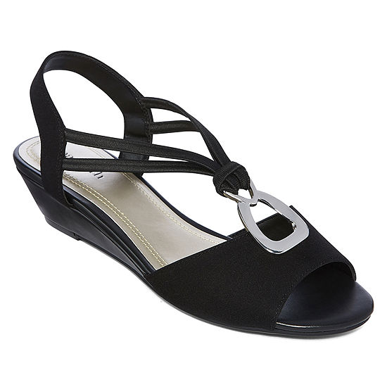 72a70f97107 east 5th Womens Reid Wedge Sandals - JCPenney