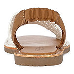 Arizona Womens Honey Flat Sandals