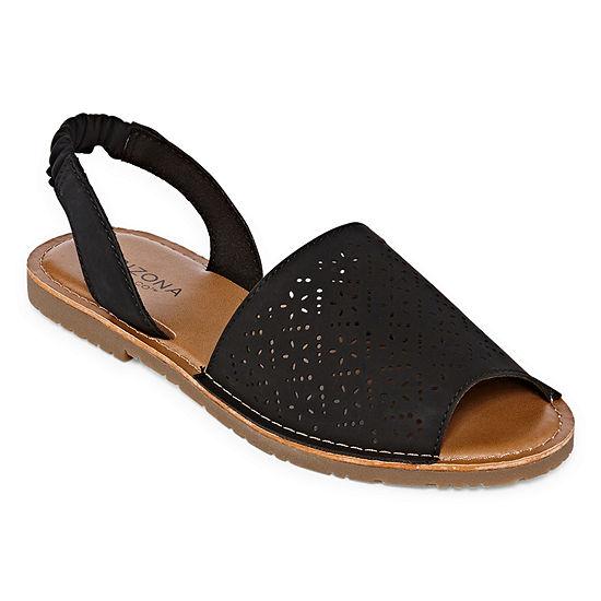 Arizona Womens Honey Flat Sandals
