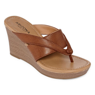 Arizona Womens Carmen Wedge Sandals