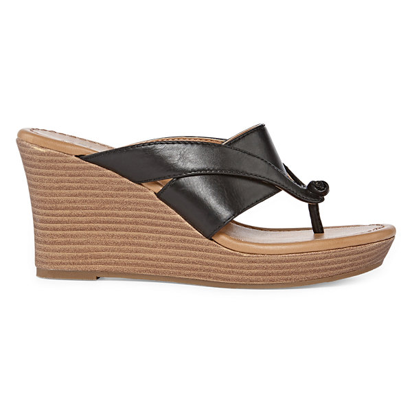 Arizona Carmen Womens Wedge Sandals