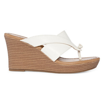Arizona Womens Carmen Wedge Sandals