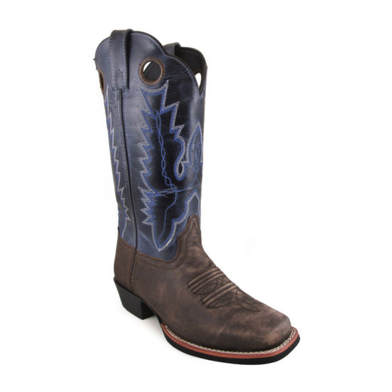 "Smoky Mountain Women's Mesa 12""  Oil Distress Crackle Leather Cowboy Boot"