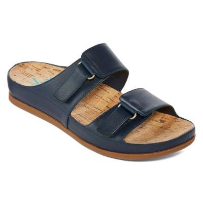 Yuu Womens America Slide Sandals