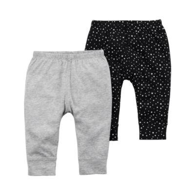 Carter's Little Baby Basics Pull-On Pants Girls