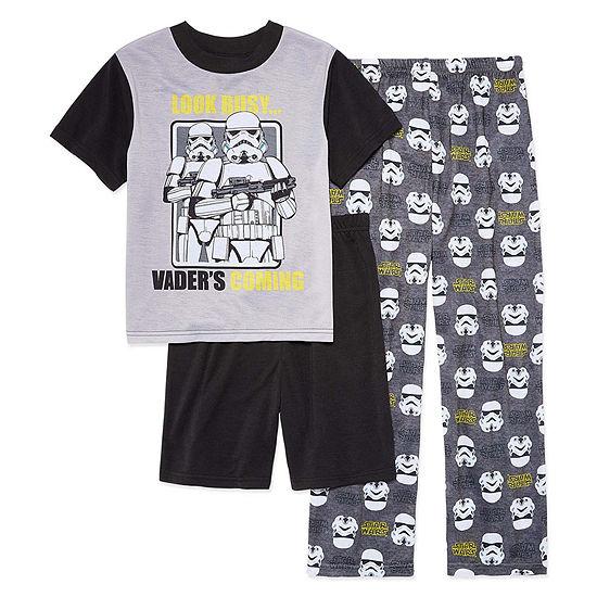 Boys 3-pc. Star Wars Pajama Set Big Kid