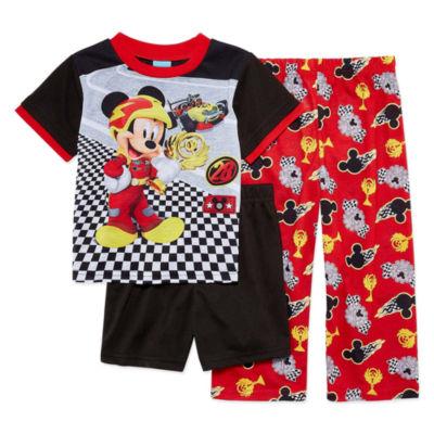 Disney 3-pc. Mickey Mouse Pajama Set Boys