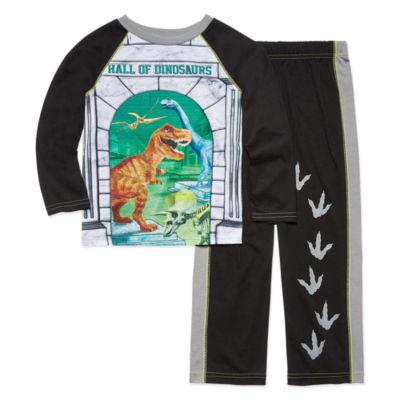 Dinosaur 4D 2 Piece Pajama Set - Boys 4-20