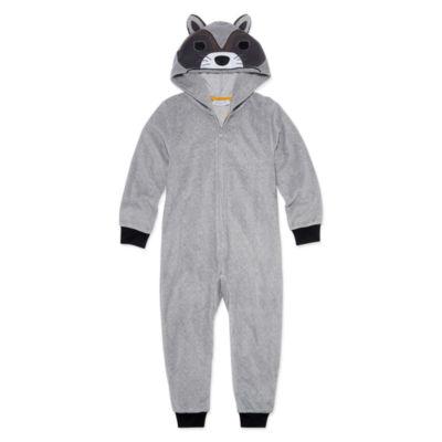 Raccoon One Piece Pajama - Boys 4-20