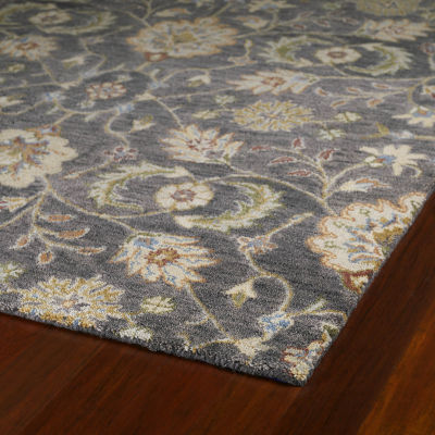 Kaleen Helena Meadow Hand-Tufted Wool Rectangular Rug