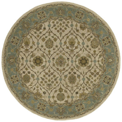 Kaleen Tara Rounds Palma Hand-Tufted Wool Round Rug