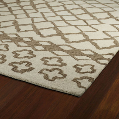 Kaleen Casablanca Moroccan Hand-Tufted Wool Rectangular Rug