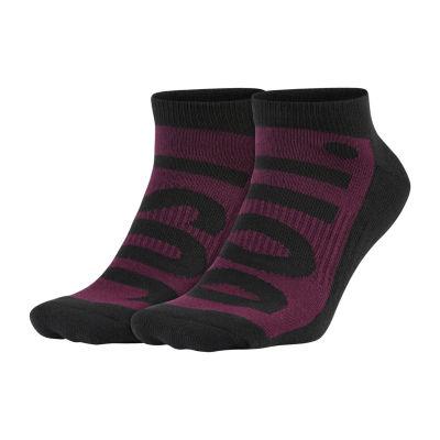 Nike 2 Pair No Show Socks-Mens