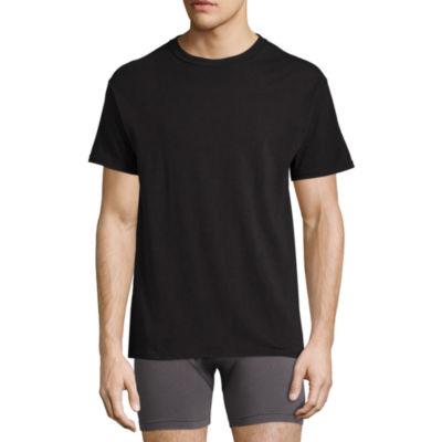 Hanes® Men's Stretch FreshIQ™ 3-pk. Short Sleeve Crew
