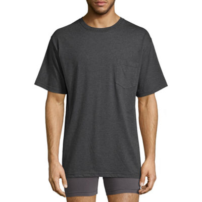 Stafford Performance Heavyweight Crew Pocket Comfort Tee w/Wicking