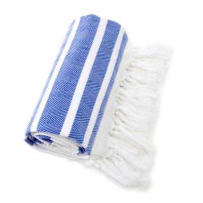 Linum Home Textiles Herringbone 38x69 Beach Towel