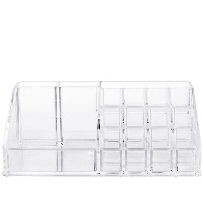 Sorbus Acrylic Cosmetics Makeup and Jewelry Storage Case Display Top