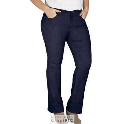 Dickies® Perfect Shape Bootcut Stretch Denim Jean - Plus