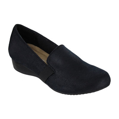 Mia Amore Womens Lily Slip-On Shoes Strap Round Toe