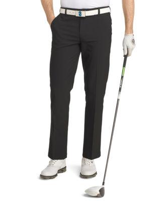 IZOD Swingflex Straight Fit Flat Front Golf Pant