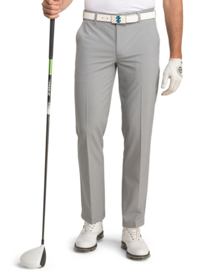 IZOD Swingflex Straight Fit Flat Front Golf Pant