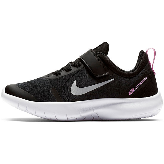 Nike Flex Experience 8 Little Kids Lace-up Girls Running Shoes