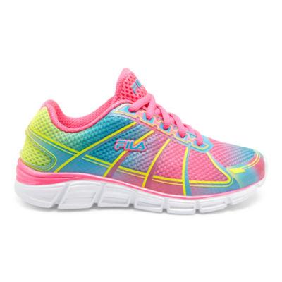 Fila Speedglide 3 Little Kids Girls Lace-up Running Shoes