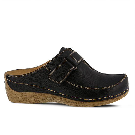 Spring Step Womens Aphylla Clogs Slip-on Round Toe
