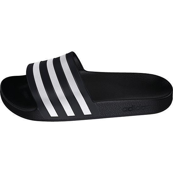 cheap for discount 99b8d 42a43 adidas Adilette Aqua Sandal Womens Slide Sandals JCPenney
