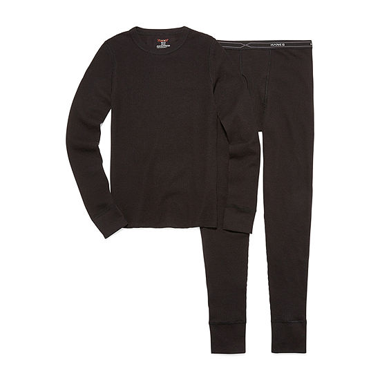 Hanes Xtemp Thermal Set-Boys
