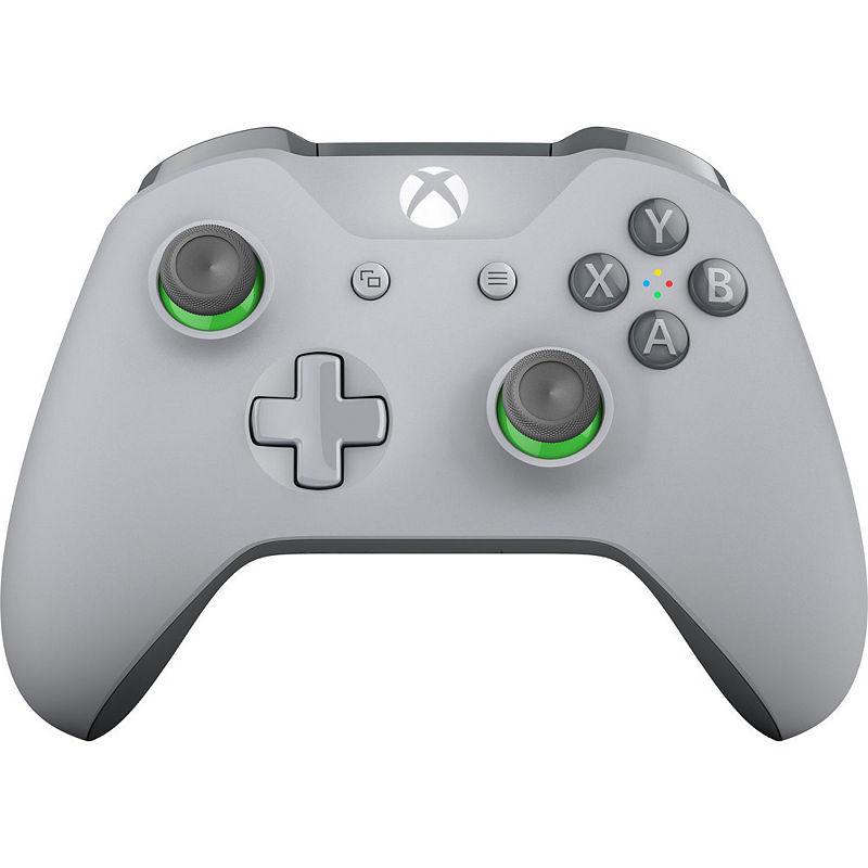 Microsoft Xbox One Wireless Controller - Gray/Green