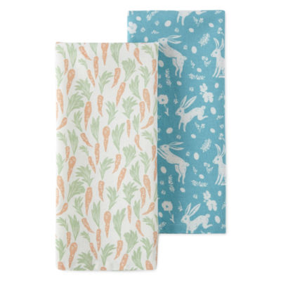 JCPenney Home Carrots 2-pc. Kitchen Towel