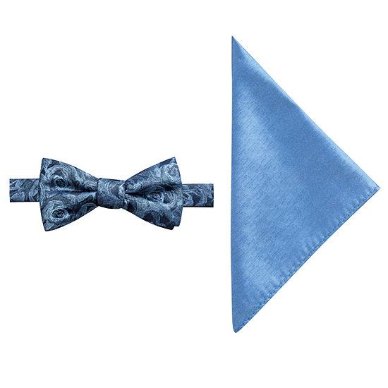 JF J.Ferrar Floral Bow Tie Set