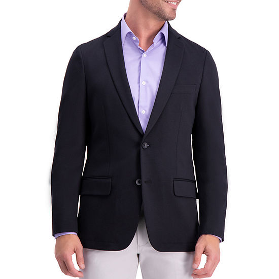 Haggar Mens Stretch Slim Fit Sport Coat