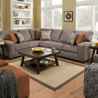 Simmons® Lakeland 2 Pc Sofa Sectional
