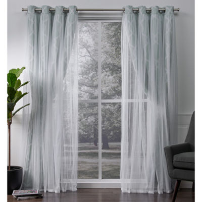 Carmela 2-Pack Blackout Thermal Grommet-Top Curtain Panel