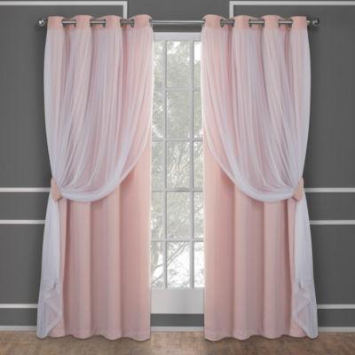 Catarina Multi-Pack Grommet-Top Curtain Panel