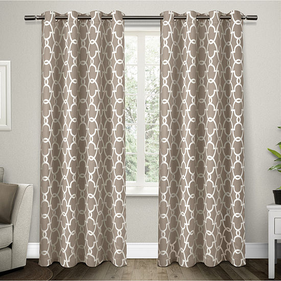 Gates Multi-Pack Energy Saving Blackout Grommet-Top Curtain Panel