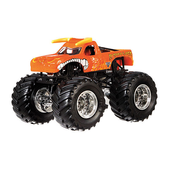 Hot Wheels Monster Truck Favorites 4 pack