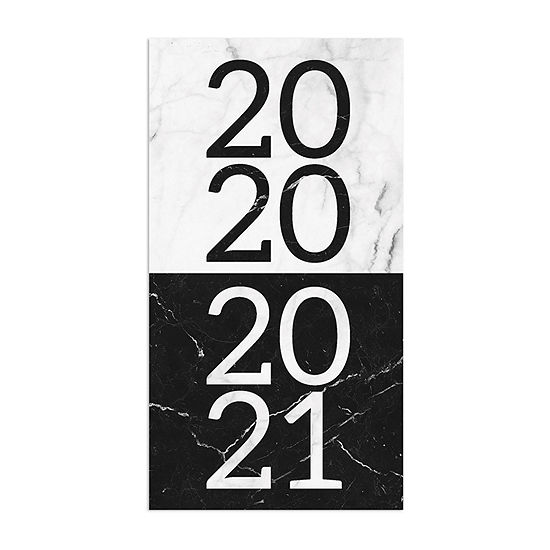 Tf Publishing 2020-2021 Marble 2-Year Small Monthly Planner