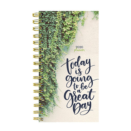 Tf Publishing 2020 Green Day Small Weekly Monthly Planner