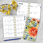 Tf Publishing 2020 Cool Blooms Small Weekly Monthly Planner