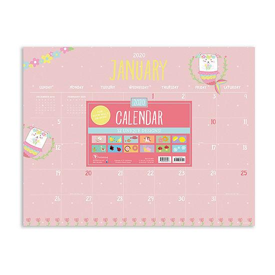 Tf Publishing 2020 Monthly Theme Desktop Calendar