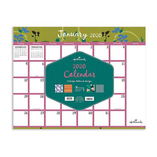 Tf Publishing 2020 Pretty Patterns Desktop Calendar