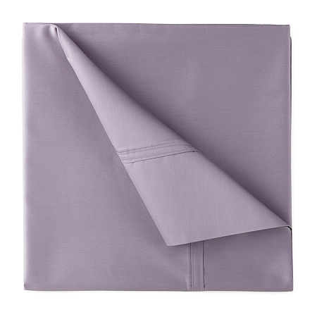 JCPenney Home Ultra Performance 575tc Sateen Deep Pocket Sheet Set, One Size , Purple