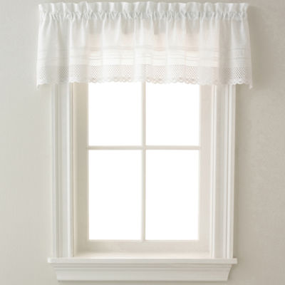Crochet Rod-Pocket Tailored Valance