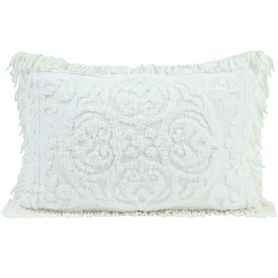 Medallion Chenille Standard Pillow Sham